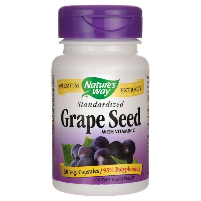 Nature's Way Standardized Grape Seed with Vitamin C