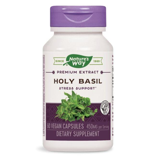Image result for Nature's Way - Holy Basil