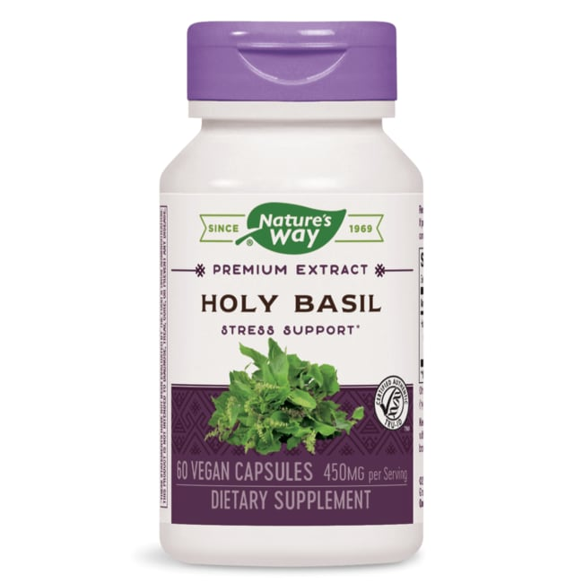 Nature's Way Holy Basil Standardized Extract Veg