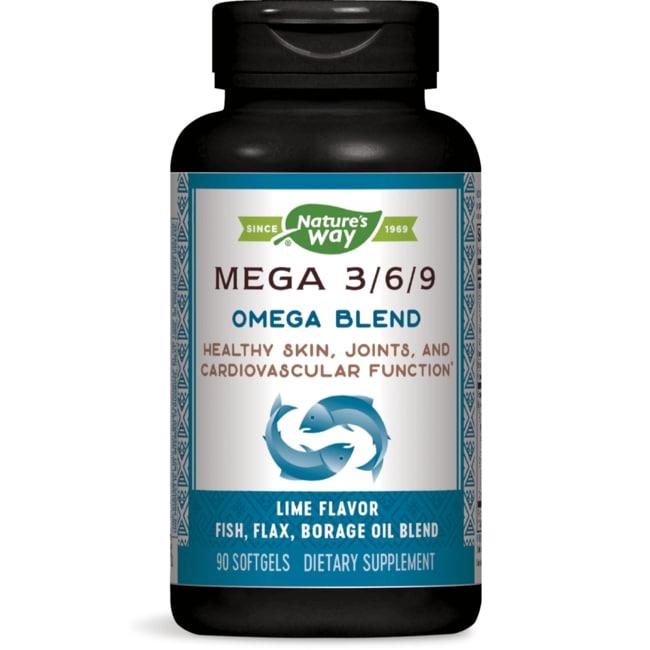 Nature's Way Mega 3/6/9 Blend 1350 mg