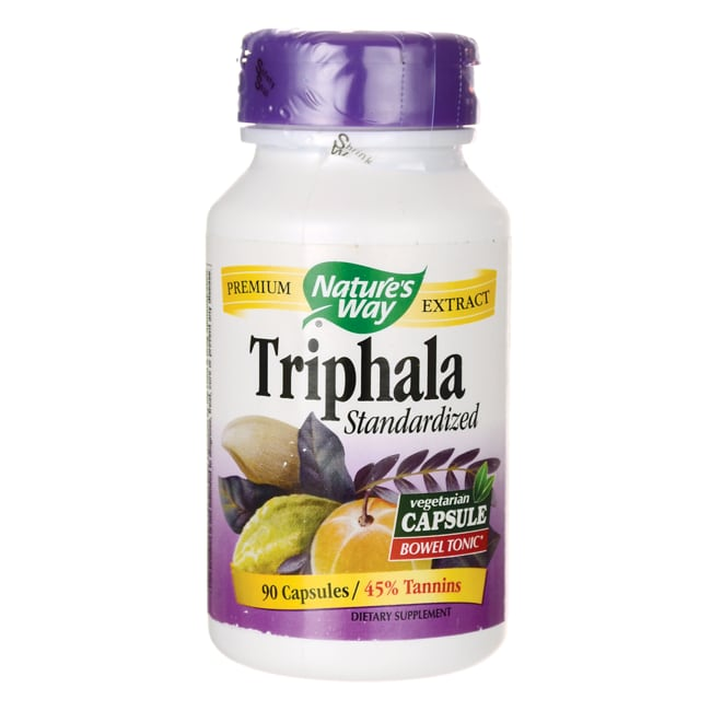 Nature's Way Triphala Standardized Extract