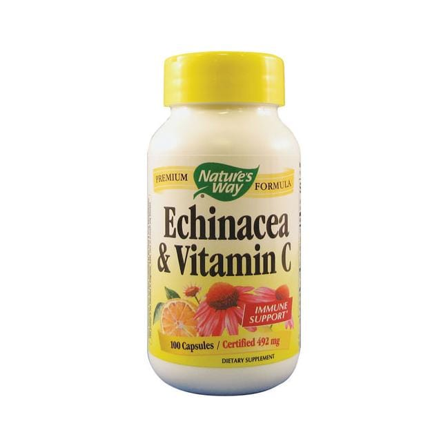 Nature's Way Echinacea & Vitamin C