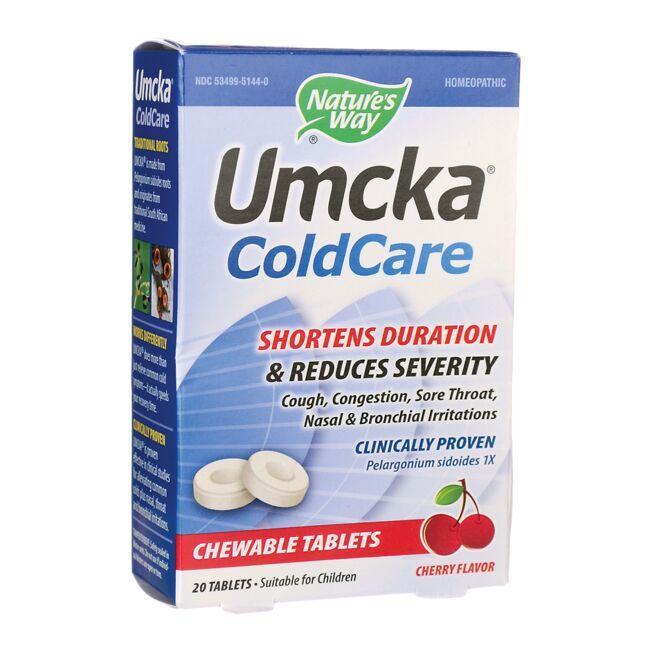 Nature's WayUmcka Coldcare Cherry Chewable