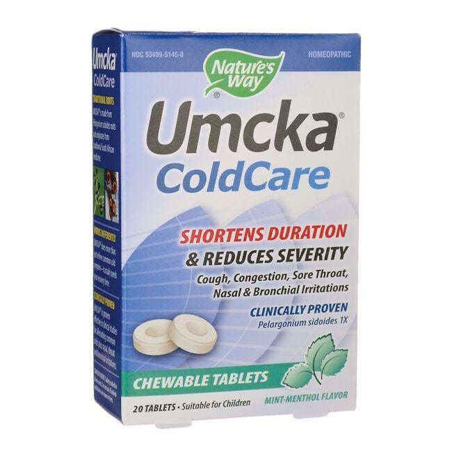 Nature's WayUmcka Coldcare Mint Chewable
