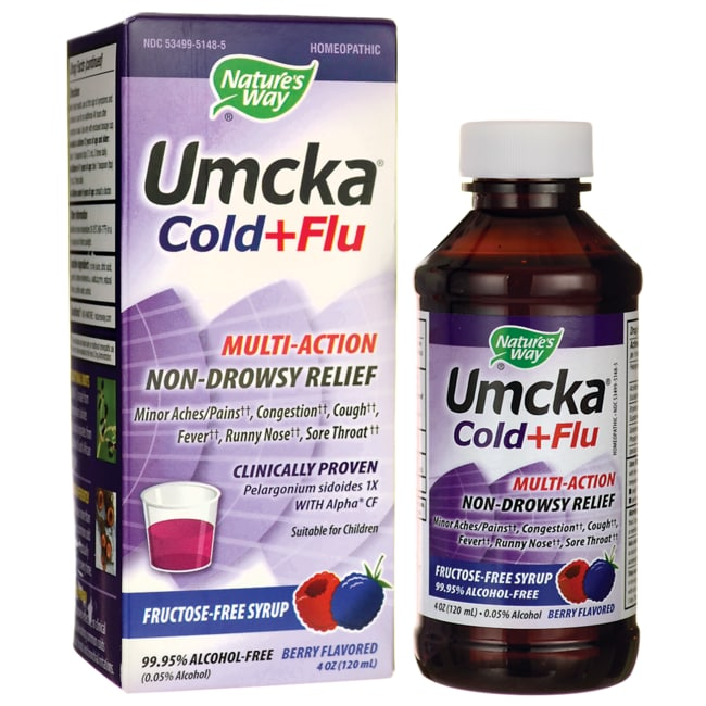 Nature's Way Umcka Cold & Flu Berry Syrup