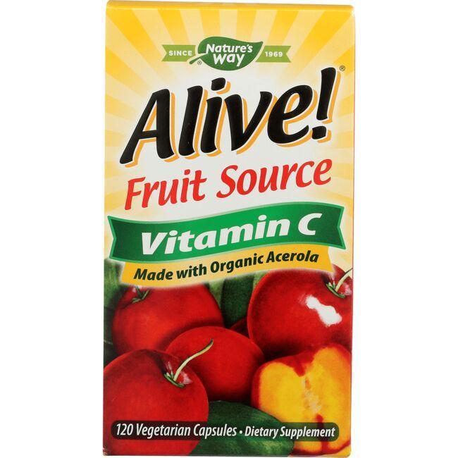 Nature's WayAlive! Fruit Source Vitamin C