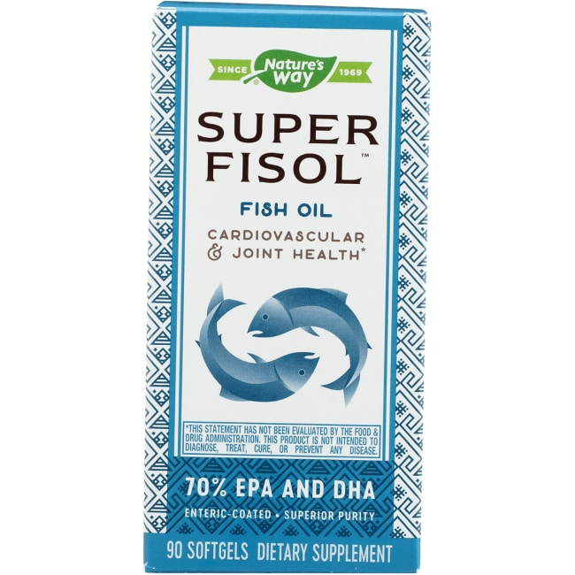 Nature's Way Super Fisol Fish Oil