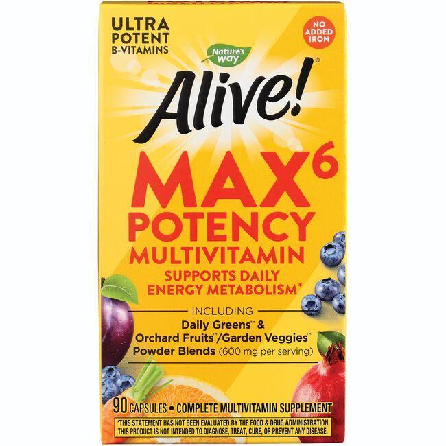 Nature's WayAlive! Max6 Daily Multi-Vitamin