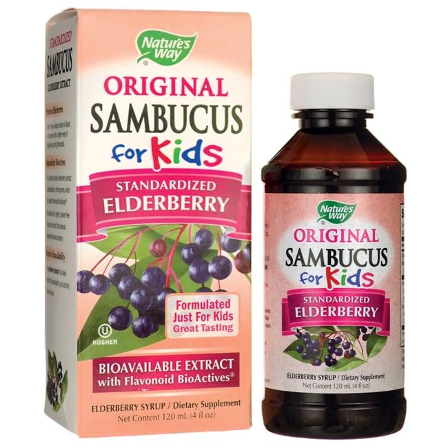 Nature's Way Original Sambucus for Kids - Elderberry