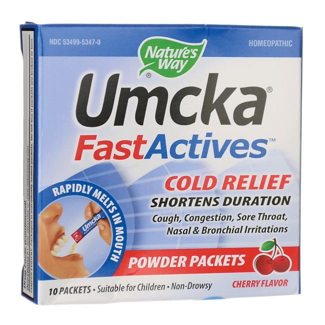 Nature's Way Umcka ColdCare FastActives Cherry