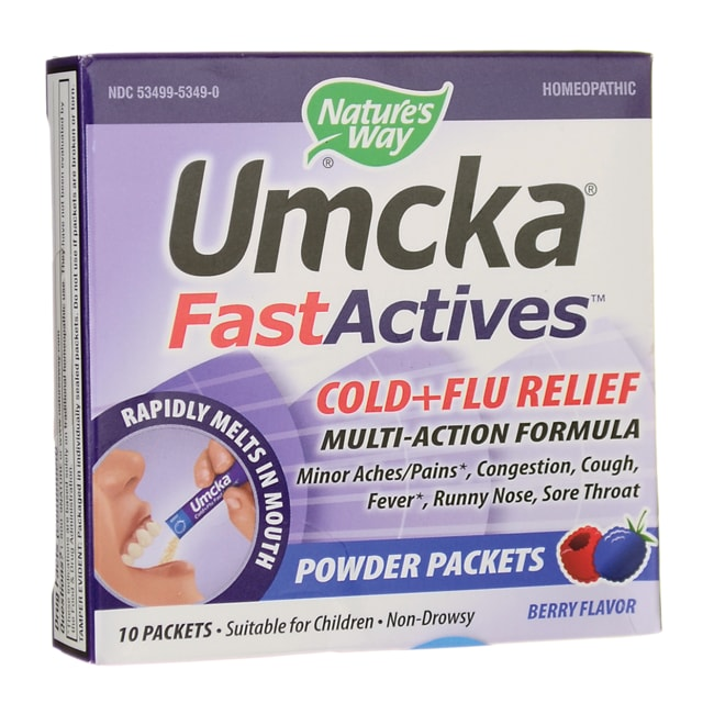Nature's WayUmcka Cold+Flu FastActives - Berry