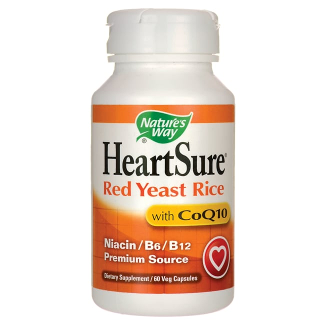 Nature's WayHeartSure Red Yeast Rice with CoQ10