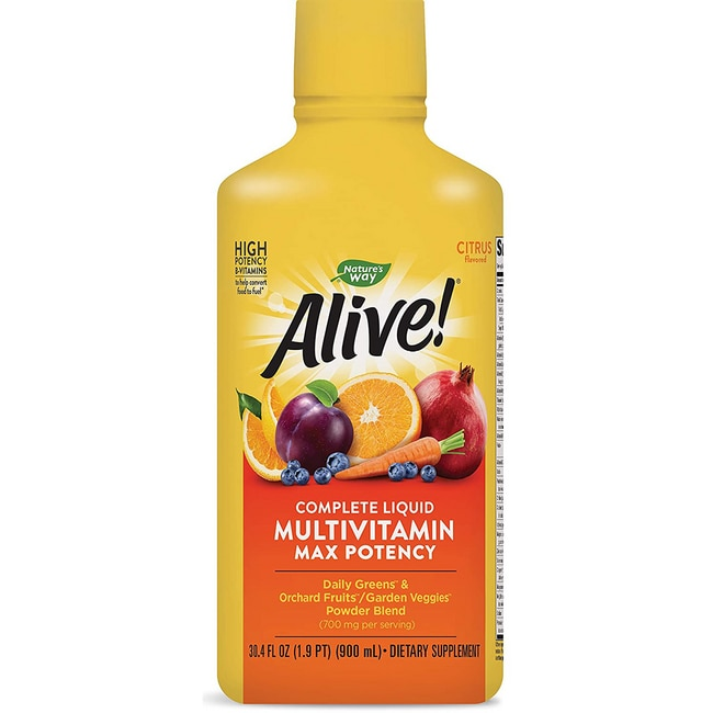 Nature's WayAlive! Multi-Vitamin Max Potency - Citrus