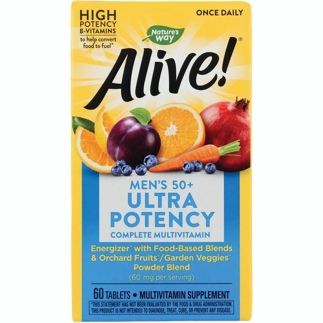 Nature's WayAlive! Once Daily Men's 50+ Ultra Potency