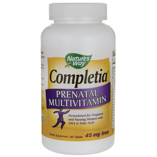 Nature's WayCompletia Prenatal Multivitamin