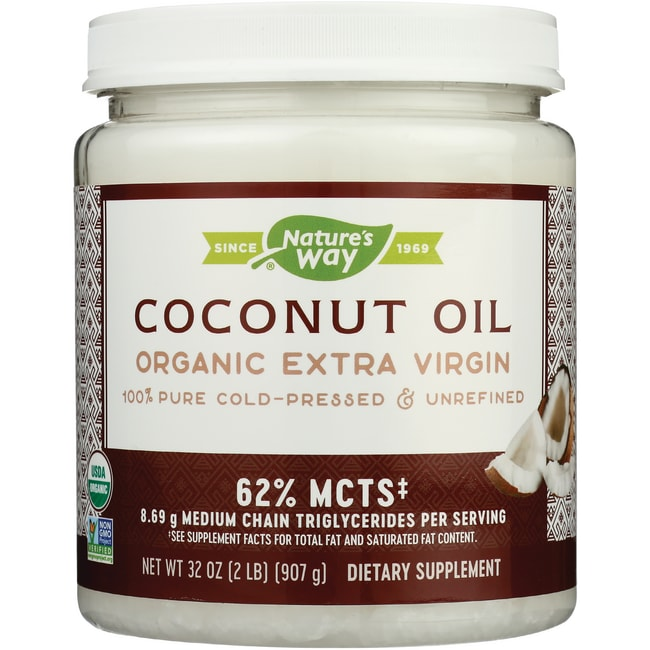 Nature S Way Coconut Oil  Oz