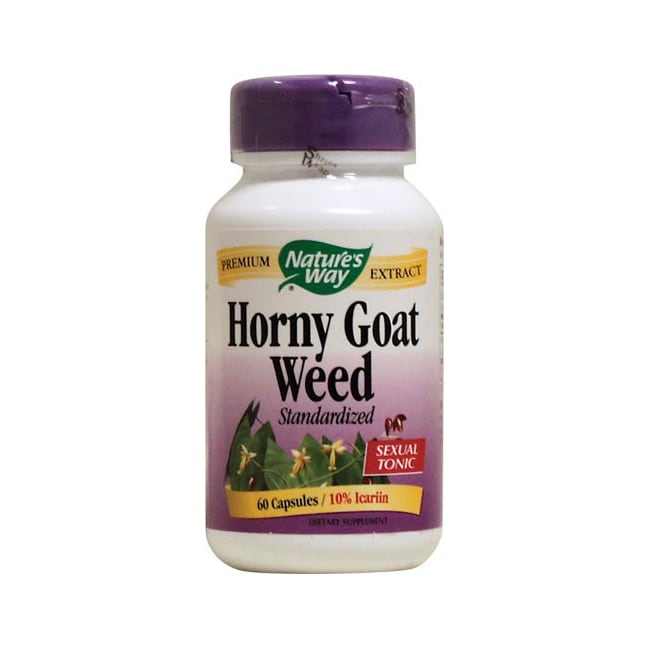 Nature's WayHorny Goat Weed Standardized