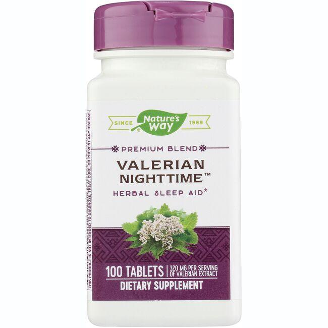 Valerian nighttime
