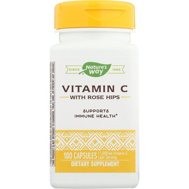 Nature's Way Vitamin C-500 with Rose Hips