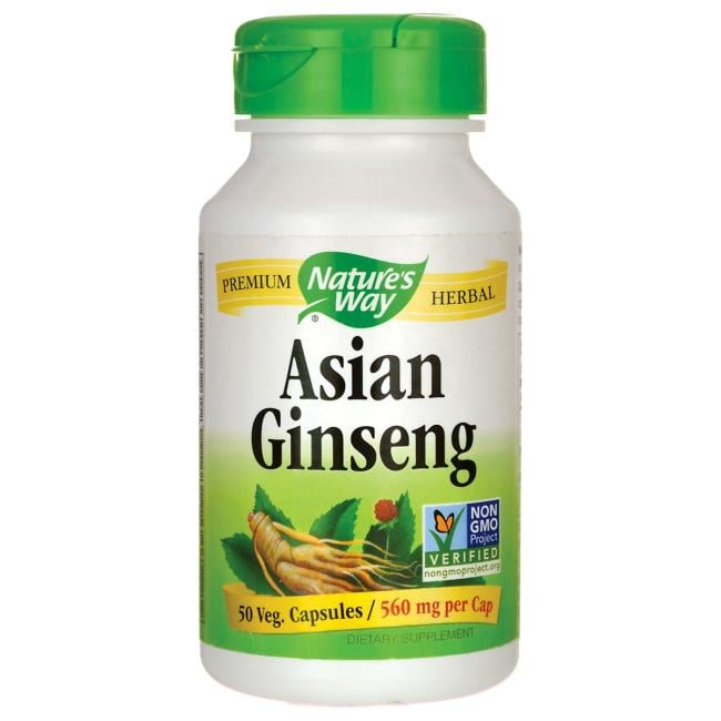 Nature's WayAsian Ginseng