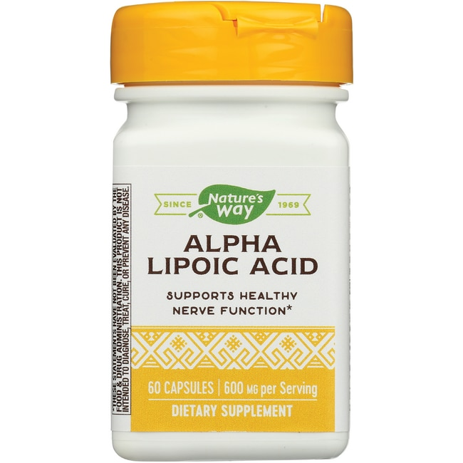 Nature's Way Alpha Lipoic Acid Plus Rosemary