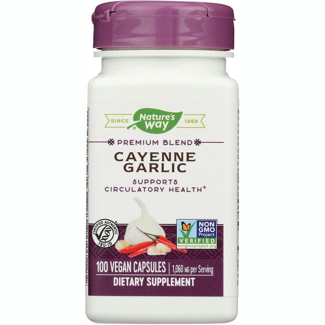 Nature's WayCayenne Garlic
