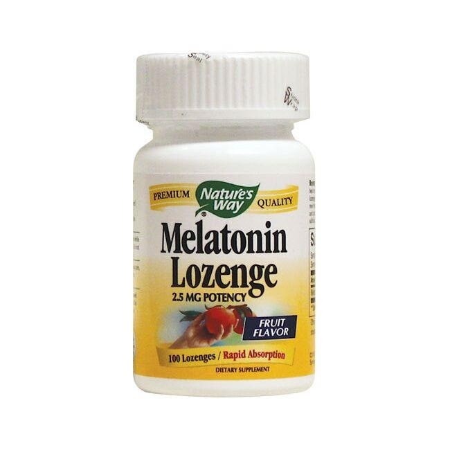 Nature's Way Melatonin Lozenge - Fruit Flavor