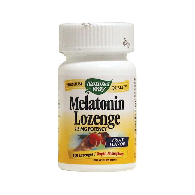 Nature's WayMelatonin Lozenge Fruit Flavor