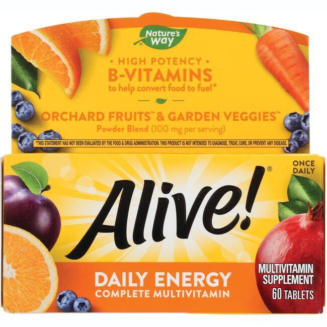 Vitamins For Energy >> Alive Daily Energy Multivitaminitem Nw789