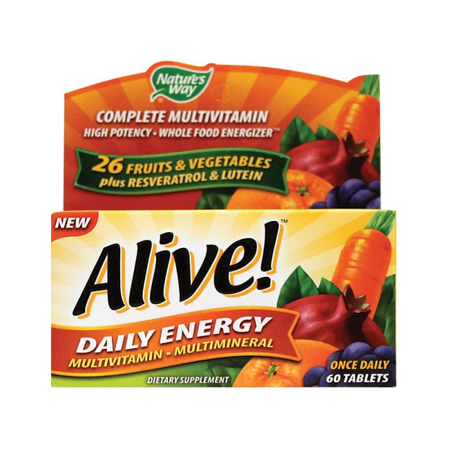 Nature's WayAlive! Daily Energy Multivitamin