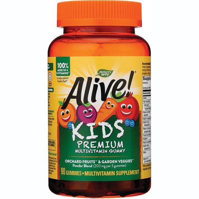 Nature's WayAlive! Children's Multi-Vitamin Gummies