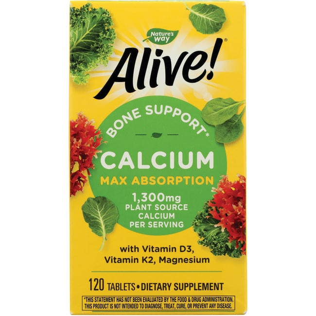 Nature's WayAlive! Calcium Bone Formula