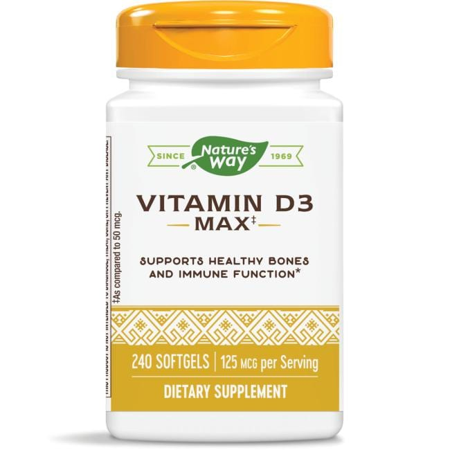 Nature's Way Vitamin D3 Max