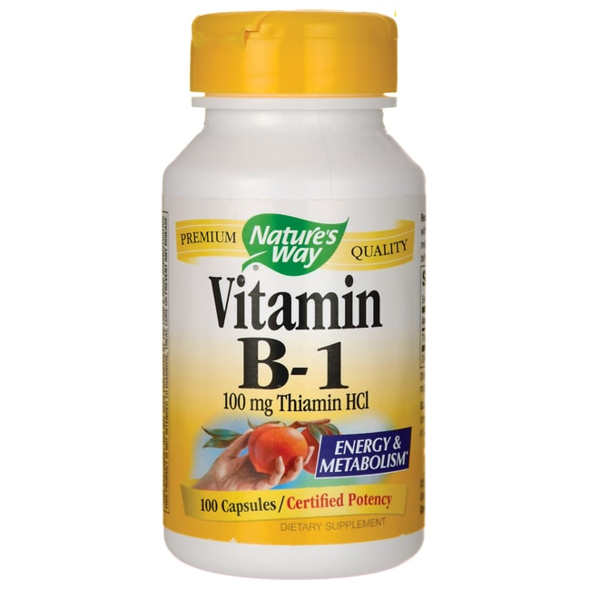 Nature's Way Vitamin B-1