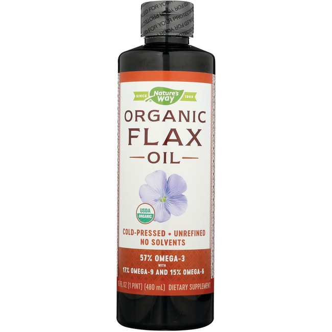 Nature's Way EFAGold Flax Oil Organic