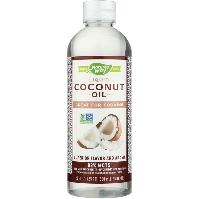 Nature's WayLiquid Coconut Premium Oil