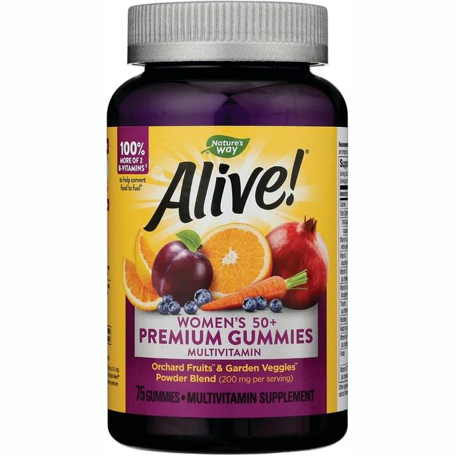 Nature's Way ALIVE! Women's 50+ Gummy Vitamins
