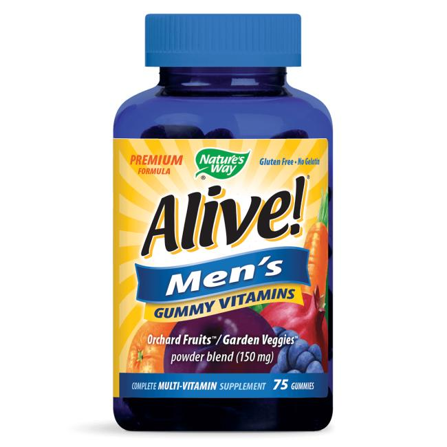 Nature's WayALIVE! Men's Gummy Vitamins