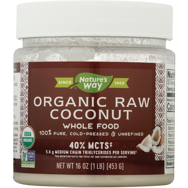 Nature S Way Raw Coconut For Hair