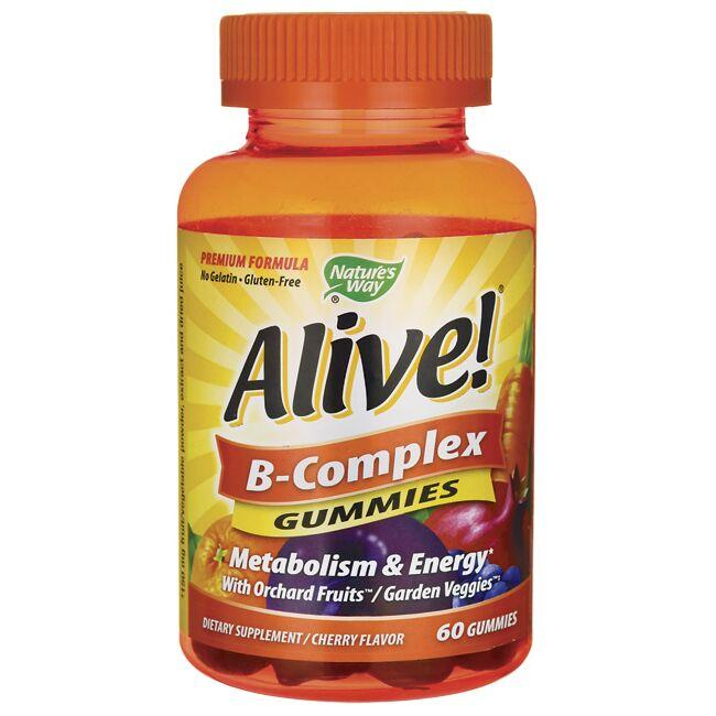 Nature's Way Alive! B-Complex Gummies