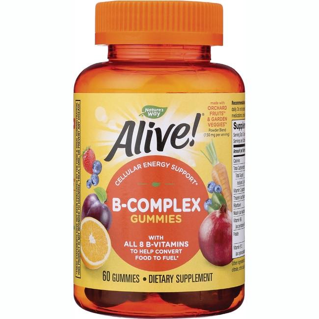 Nature's WayAlive! B-Complex Gummies