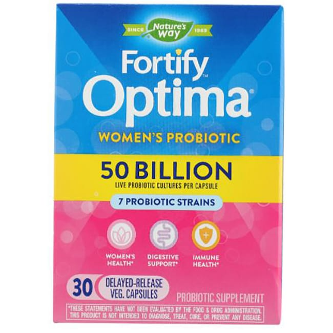 Nature S Way Primadophilus Optima Women S  Billion  Veg Caps