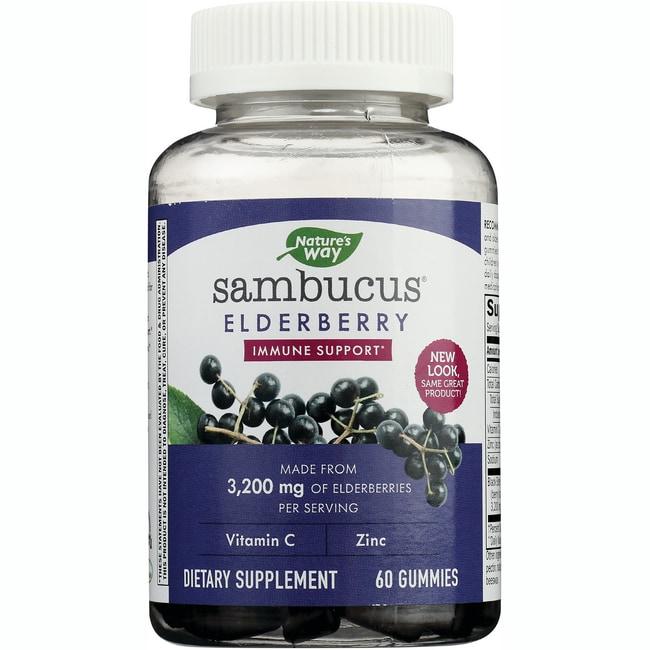 Nature S Way Elderberry Gummies