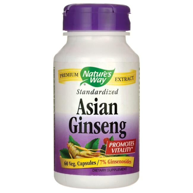 Nature's WayStandardized Asian Gingseng