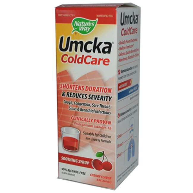 Nature's WayUmcka ColdCare Soothing Syrup - Cherry