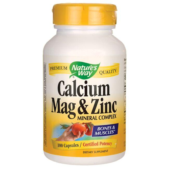 Nature's Way Calcium Mag & Zinc Mineral Complex