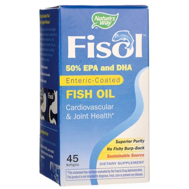 Nature's Way Fisol Enteric-Coated Fish Oil