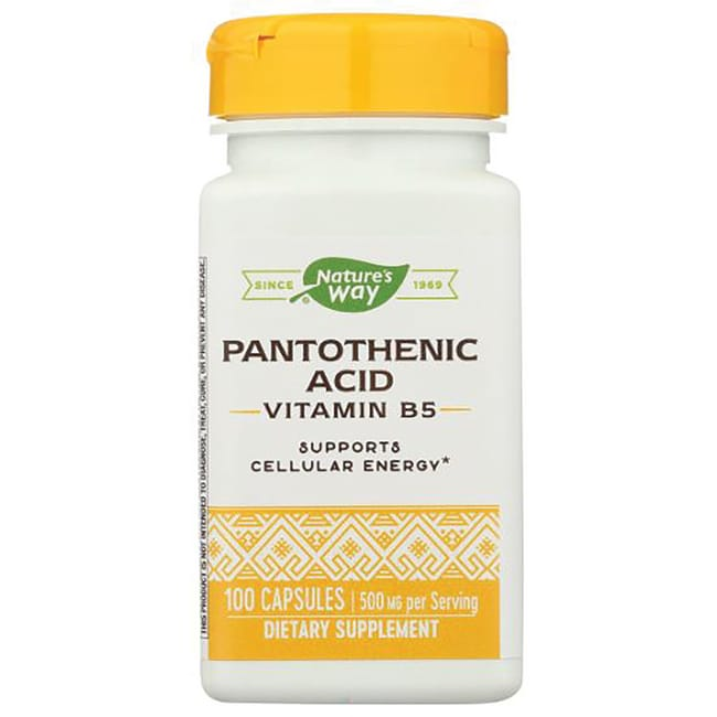 Nature's WayPantothenic Acid