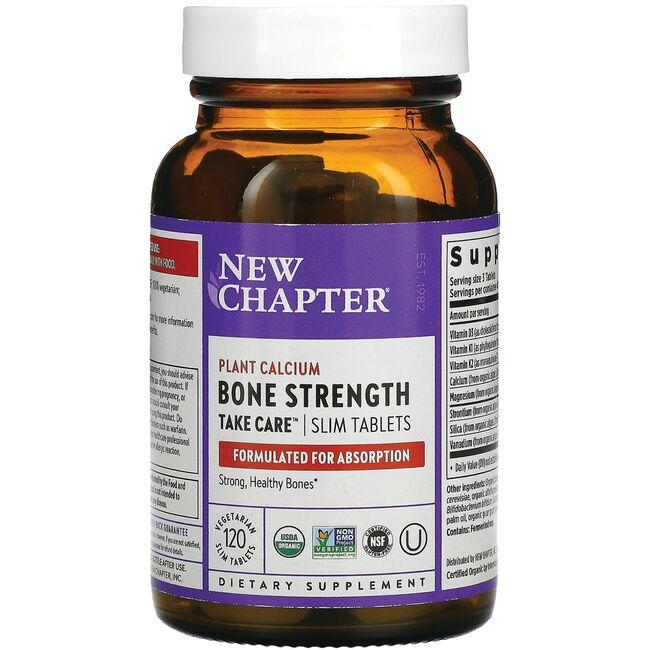 New Chapter Bone Strength Take Care - Slim Tablets
