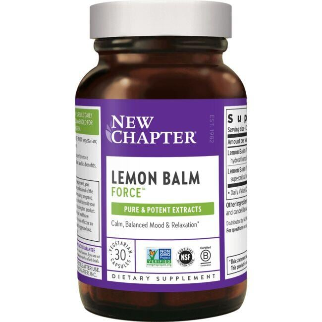 New ChapterLemon Balm Force